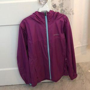 COLUMBIA 🌸 Purple Rain Jacket